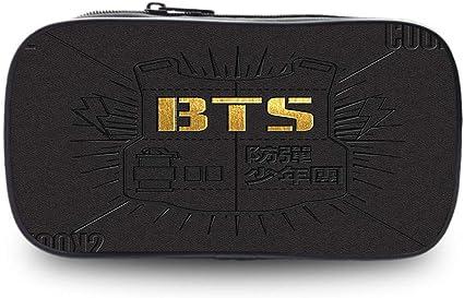 BTS - Estuche para lápices de escuela primaria y secundaria, color 7.: Amazon.es: Oficina y papelería