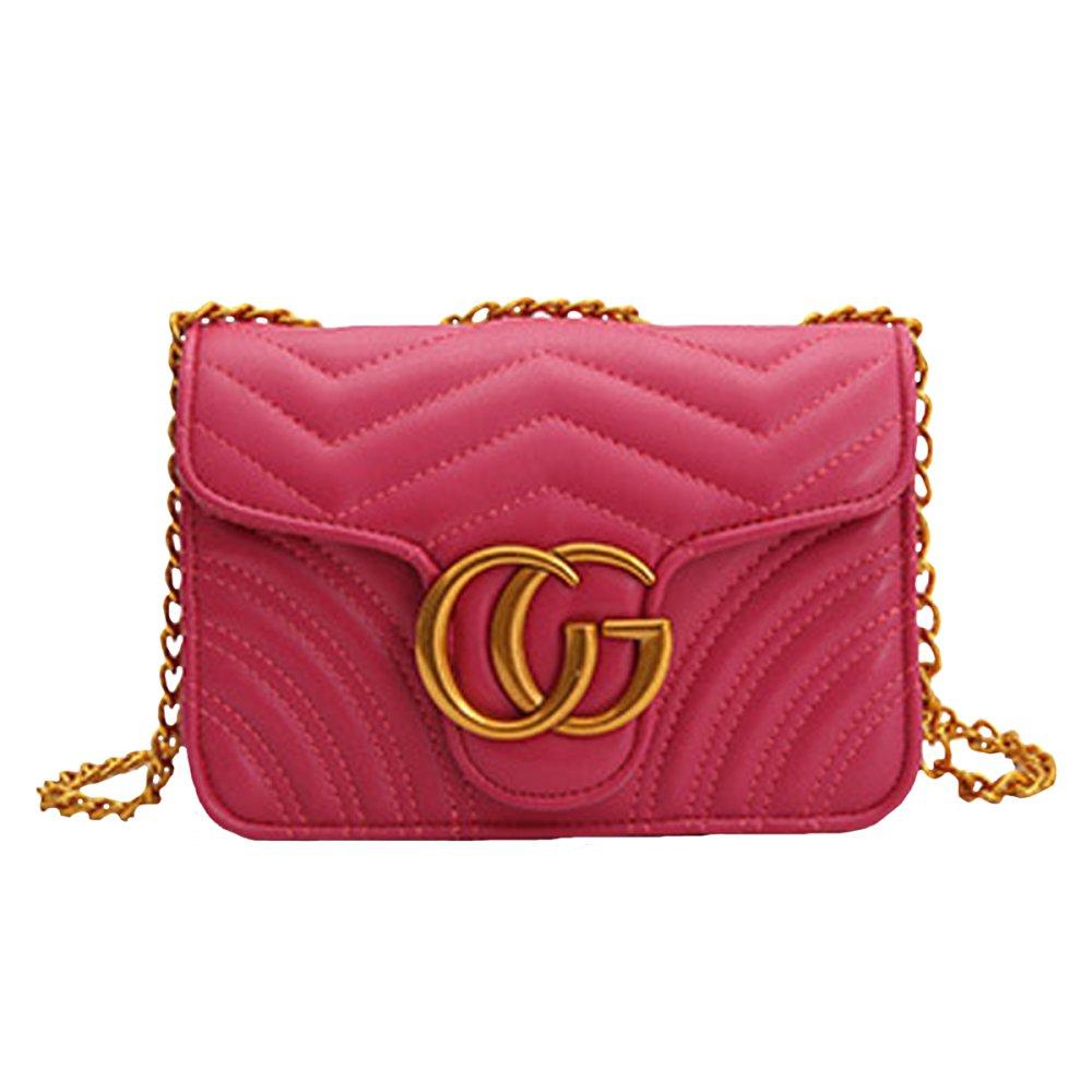 SHRJJ 2018 Baby Frauen Handtaschen Umhängetasche Kette Schultertaschen Mode Mini Taschen Lingge Handtaschen 20x8x13 Cm