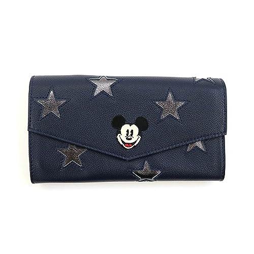 9f45ed4dfb86 アコモデ)Accommode (ディズニー)Disney ミッキーマウス/スターレザーウォレット 長財布