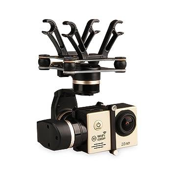FeiYu - Soporte de drone para cámara deportiva, color negro ...