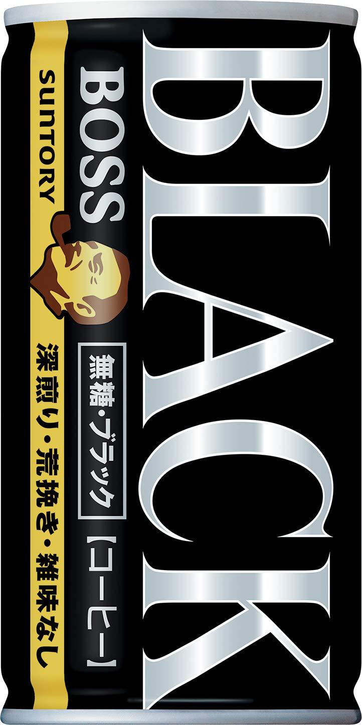 Suntory Coffee boss Sugar-Free Black 185g × 30 This