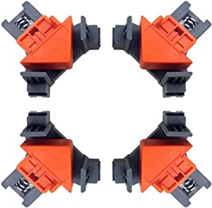 Multifunction Angle Clamp, 90°Right Angle Clip Fixer, ABS Material Woodworking Corner Clip, Multifunction Tool for Woodworking, Cabinet and Furniture Repair Connection(1pc)