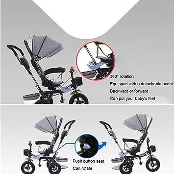 QXMEI 4 En 1 Triciclo para Niños Arnés De 5 Puntos Cinturón De ...