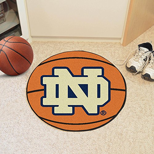 Fighting Irish Basketball Rug (Basketball Floor Mat - Notre Dame)