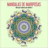 Mandalas de mariposas libro para colorear para adultos 1