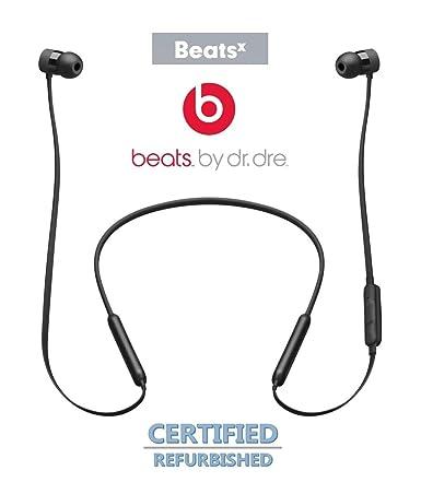 de3d1aa27e6 BeatsX Wireless in-Ear Headphones Beats by Dr. Dre (Bluetooth, Fast Fuel,  Flex-Form Cable, RemoteTalk) (Black) (Renewed): Amazon.ca: Cell Phones & ...