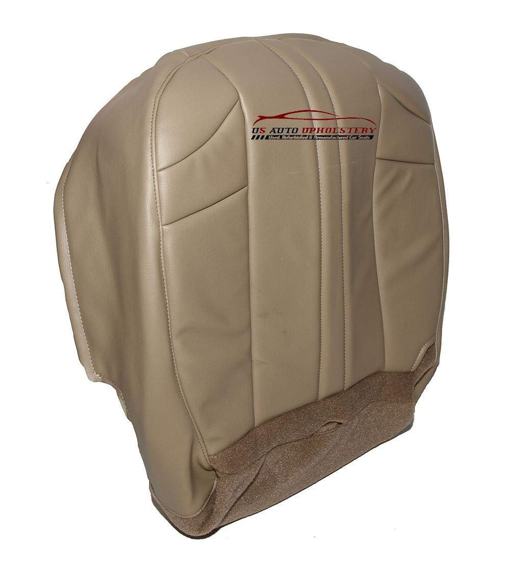 US AUTO UPHOLSTERY 2002 2007 Jeep Grand Cherokee Driver Bottom Synthetic Leather Seat Cover Tan