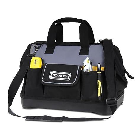 Amazon.com: Stanley Open bolsa Bolsa de herramientas 41 cm ...