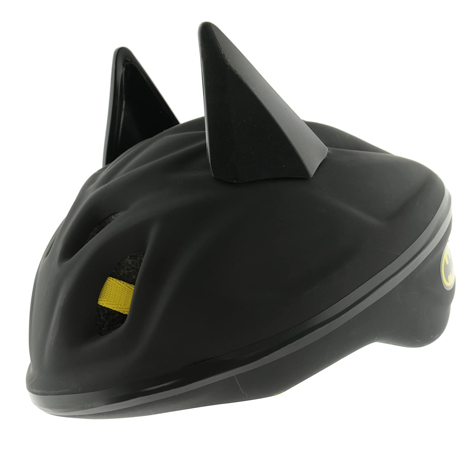 Amazon.com : DC Comics 3D Batman Bat Ears Safety Helmet Kids ...