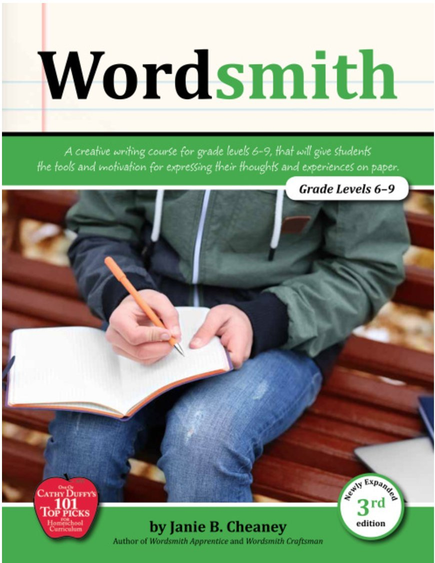 Wordsmith Student Book (3rd Edition) - 7th-9th Grade Skills, Writing Textbook pdf