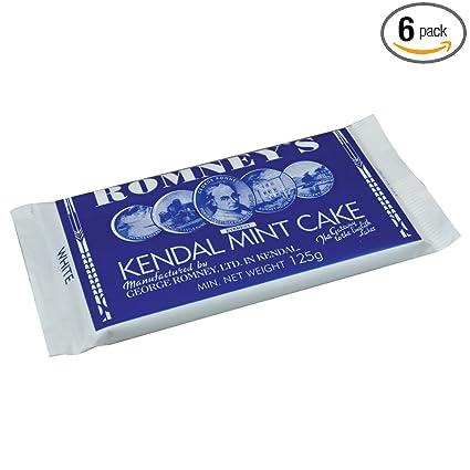 6 X Kendal Mint Cake  170g LARGE WHITE BAR