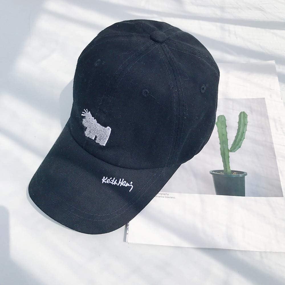 Sombrero de Perro Tridimensional Casual Lavado Viejo Gorra de ...
