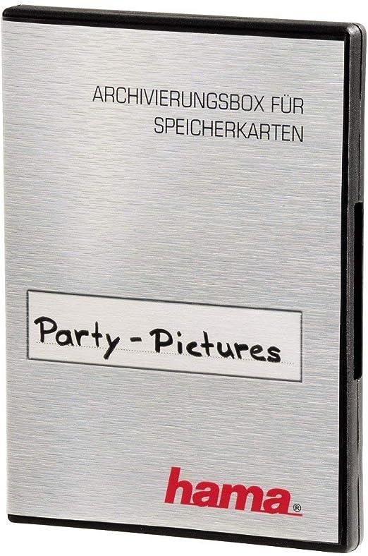 Hama Speicherkarten Box Für 16 Speichermedien Schwarz Kamera