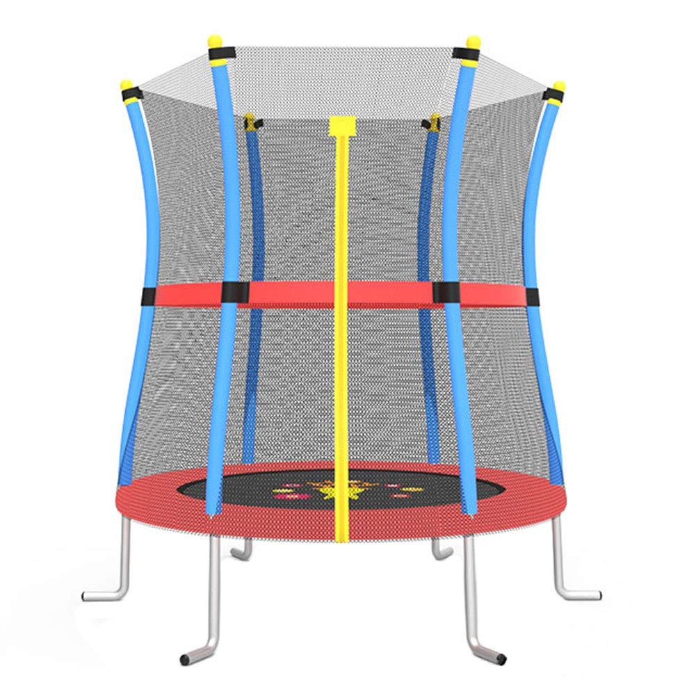 Trampolin, Kinder-Trampoline mit 140 cm rundem Seaside Mini-Bouncer für den Innen- und Außenbereich - Max Load 200KG
