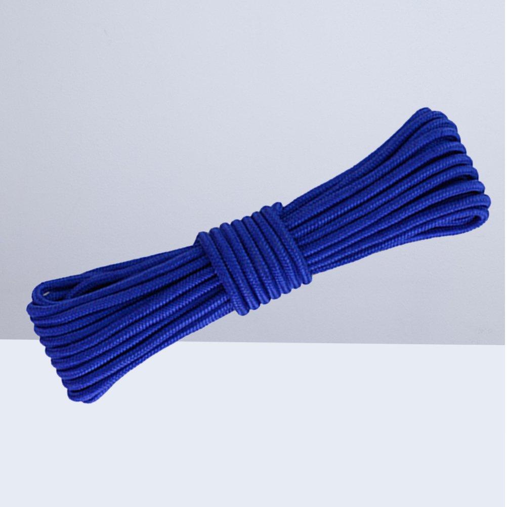 Paracord in wei/ß Nylon-Seil-Bindf/äden 5/m lang