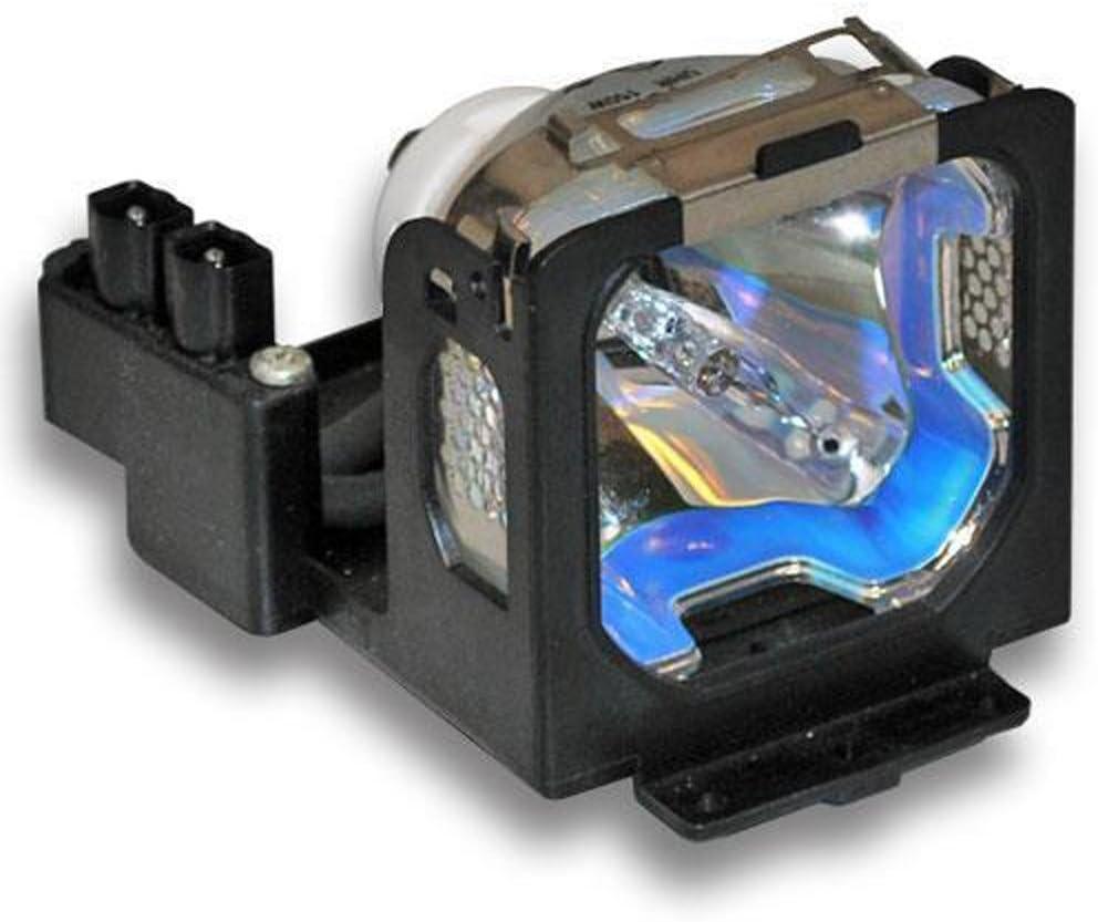 HFY marbull LV-LP12 L/¨/¢mpara de repuesto con carcasa para CANON LV-S1 LV-X1 proyector