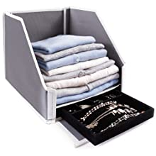 G.U.S Drop Front Collapsible Closet Sweater Bin Review