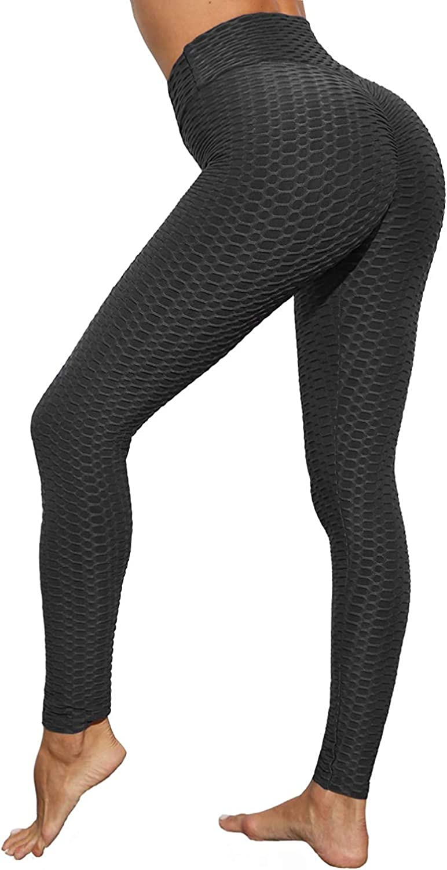 BienBien Mallas Pantalones Deportivos Leggings Mujer Push up Yoga Leggings de Cintura Alta Pantalones Deporte para Fitness Running