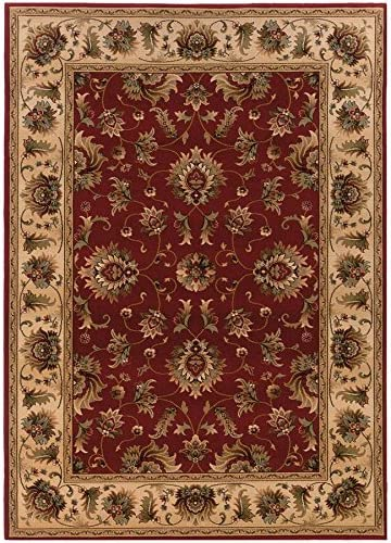 Oriental Weavers 211V Knightsbridge Area Rug, 9 10 x 12 10 , Red Beige