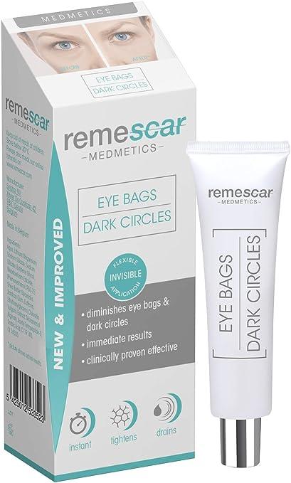Remescar Remescar Fórmula Nueva y Mejorada Bolsas y ojeras 2 Crema para las bolsas de los ojos Corrector de ojeras Elimina las bolsas