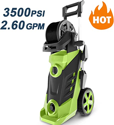 Homdox 3500 PSI 2.6 GPM Power Washer Electric Pressure Washer 1800W Electric Power Washer Cleaner