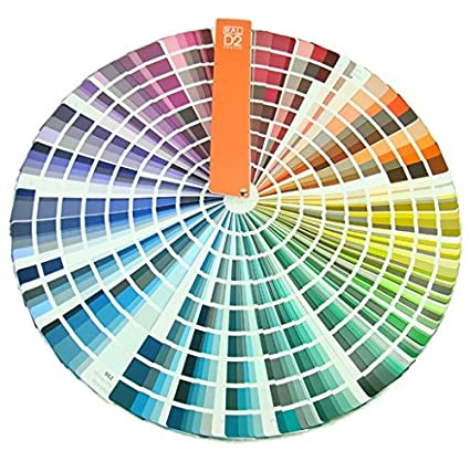 Ral D2 Painting Color Card Color Fan Deck In Box Containing All 1