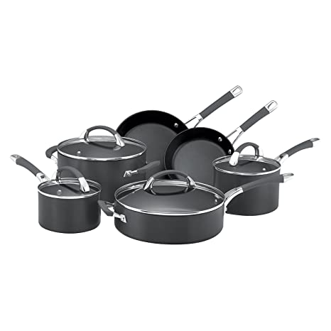 Anolon Endurance+ 6 Piece Cookware Set  Pots   Pans  Amazon.com.au e902ecff67