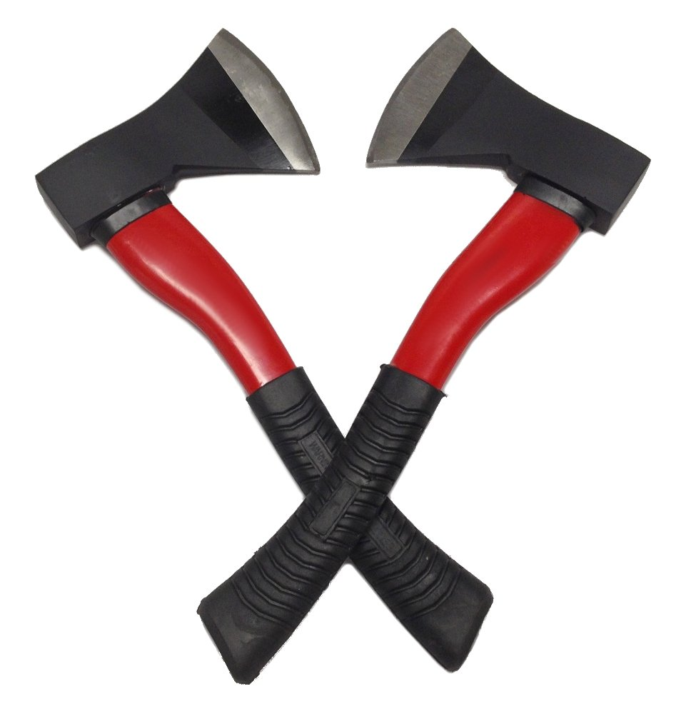 EDMBG Drake Off Road Tools 2 Camping Hatchets Multi Functional Axe Fiberglass Handle Survival