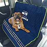 Cheap Pets First NFL CAR SEAT Cover – Seattle Seahawks Waterproof, Non-Slip Best Football Licensed PET SEAT Cover for Dogs & Cats.