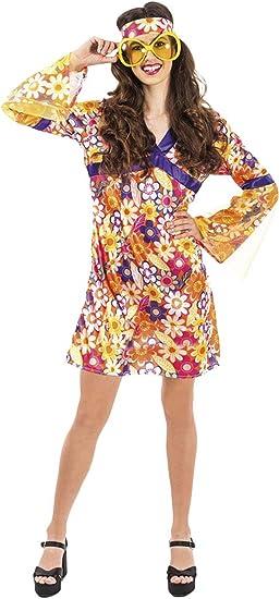 atelier bro s.l.u. Disfraz Hippie Mujer M-L: Amazon.es: Juguetes y ...