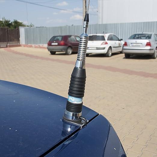 Soporte de Montaje para la fijación de la Antena CB (PL Type) en el Maletero PNI T941, 5 m RG58 Cable Incluido