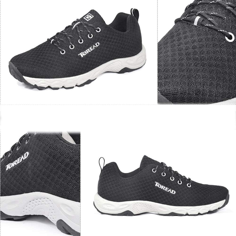 SHUX Hiking Shoes Walking wear-Resistant Outdoor Sports Walking shoes-colour6-41 Anti-Splashing Anti-Skid