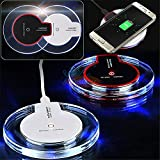 ONX3 (Black Wireless Pad + Qi Receiver) ZTE Grand X2 Pack of Ultra Slim Universal Fast Charge QI Wireless Charger Pad Station with Slip Resistant Rubber Strip and Universal QI Wireless Charger Receiver Module Film