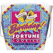 Happy Birthday Fortune Cookies – Unique Gourmet Gift - Kosher Certified