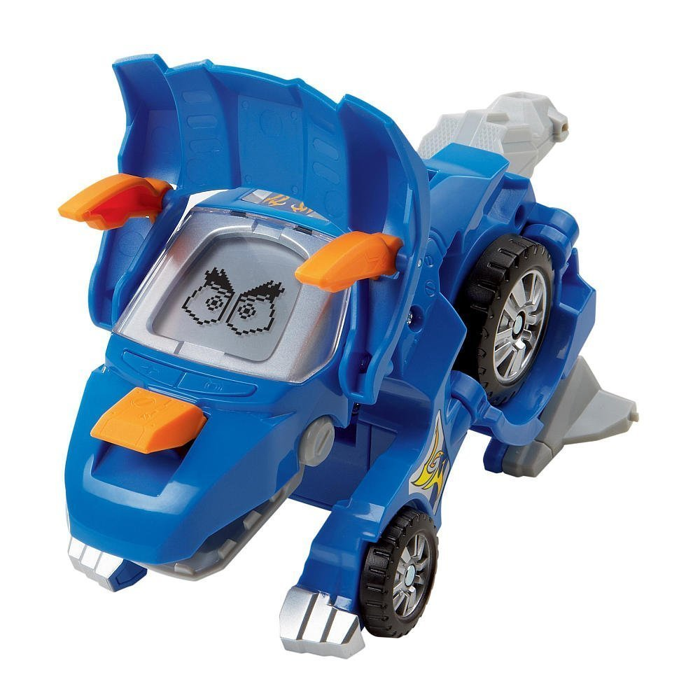 Horns the Triceratops Blue V Tech 80-122400 VTech Switch and Go Dinos