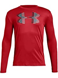Under Armour Boys' Tech Big Logo Long Sleeve T-Shirts