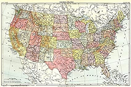 Amazon.com: USA: United States. Showing states. Britannica ...