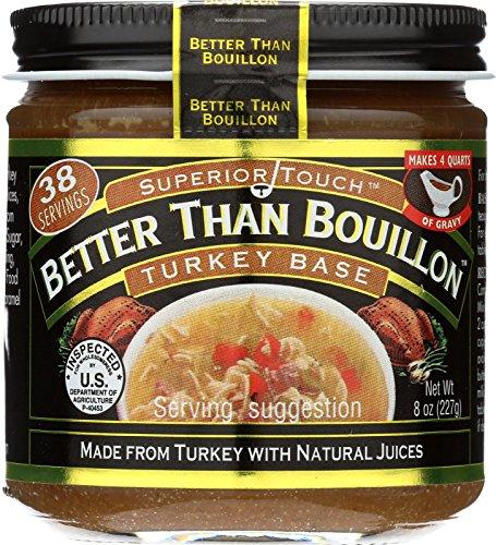 Better Than Bouillon Superior Touch Turkey Base 8oz