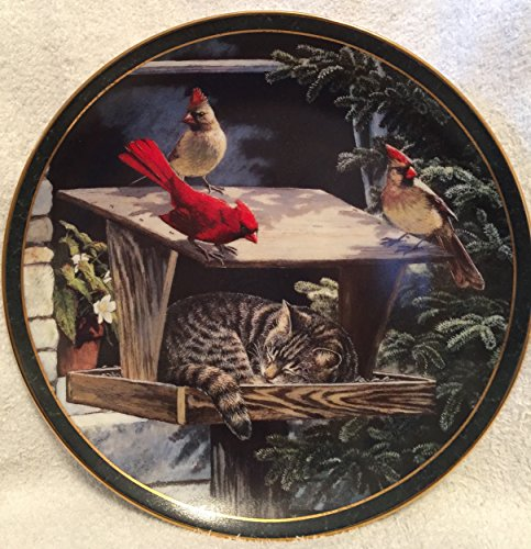 Weir Plate (Cat Nap by Persis Weirs 1st issue in Nosy Neighbors Collectors)