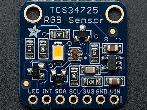 Adafruit RGB Color Sensor with IR Filter and White LED – TCS34725 [ADA1334]