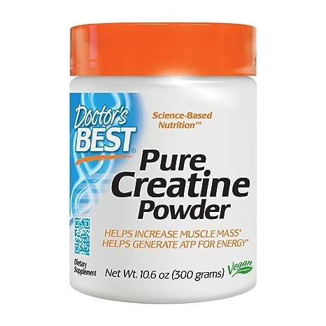 La creatina en polvo Con Creapure, 10.6 oz (300 g) - El ...