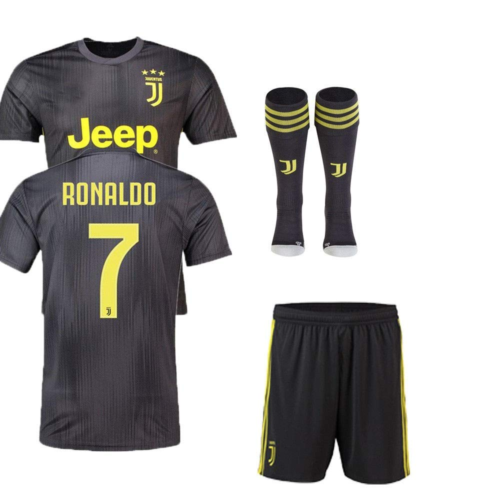 new concept 58955 d86b0 Replica JUVENTUS 2018/19 KIDS AWAY KIT - RONALDO NAME (26 (10/11))