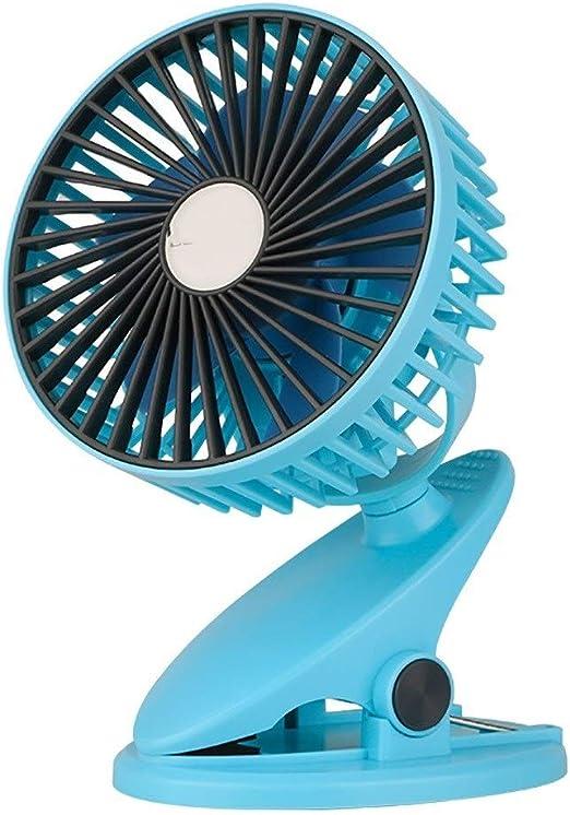 Mini ventilador con clip vertical pequeño, fácil de limpiar ...