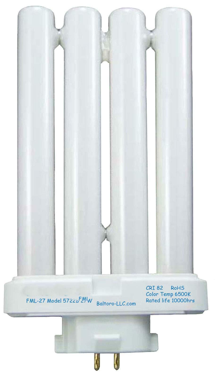 FML27/50 27 Watt Linear Quad Compact Fluorescent CFL Bulb -LLC Power