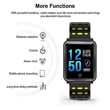 AXELEL Reloj Inteligente para Hombres Chicos, Android ...