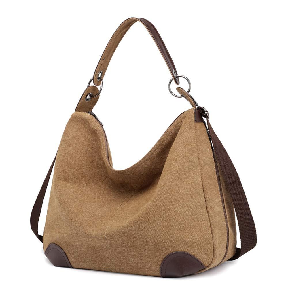 SJMMBB Frauen Frauen Frauen - Tasche, Leinwand, Umhängetasche, Gelegenheits - Handtasche B07GRY8SLS Umhngetaschen Schnäppchen f99849