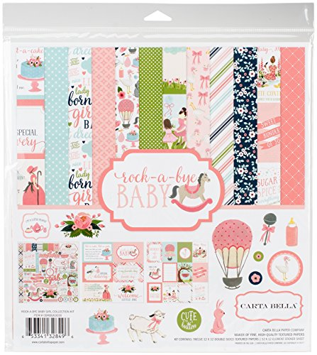 Carta Bella Paper Company Rock-A-Bye Girl Collection - Pack Collection Girl