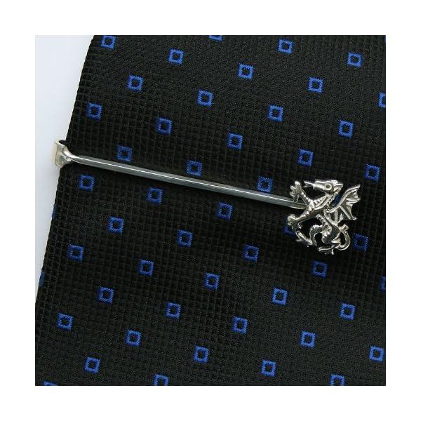 ZAUNICK-Dragon-Tie-Clip-Sterling-Silver