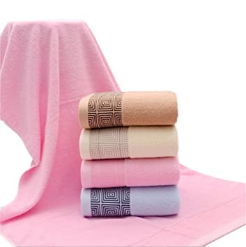 B BATH TOWEL HL Toallas De Algodón, Coffee, 70 * 140Cm,Coffee,70 * 140cm: Amazon.es: Hogar