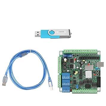 Amazon.com: CNC Tarjeta USB 25 Khz Controlador de Movimiento ...